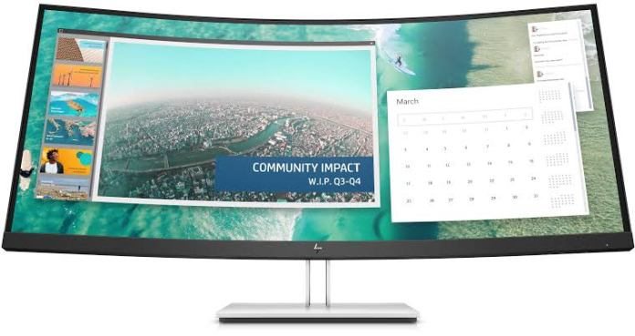 HP E344c Curved Monitor launched in India