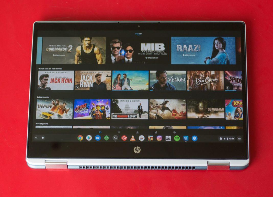 Lazımi və mənfi cəhətləri olan HP Chromebook x360 baxış (14-da0003tu) 4