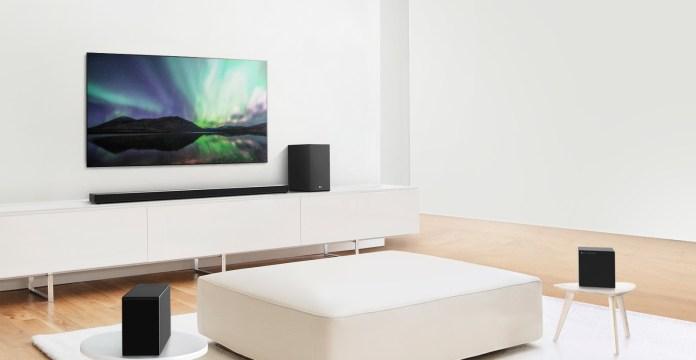 LG Soundbar 2020 CES