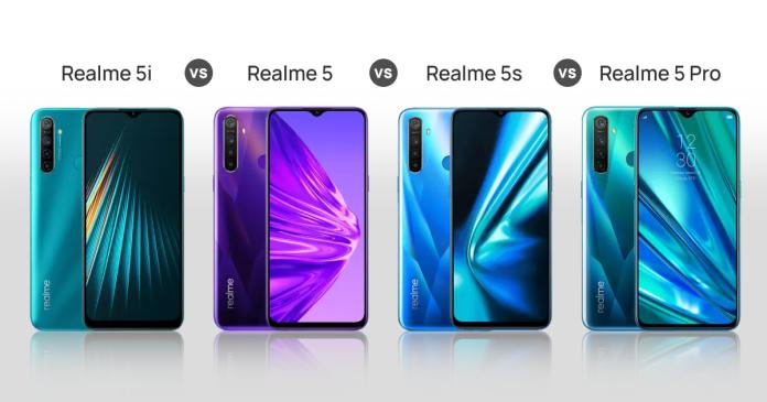 Realme-5i-vs-Realme-5-vs-Realme-5s-vs-Realme-5-Pro
