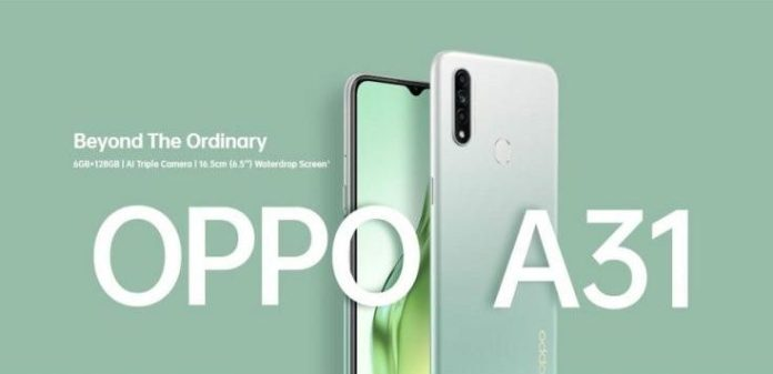 Oppo A31 launched in India
