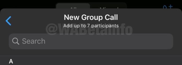 يمكن رفع حد Whatsapp Group Voice & Video Call إلى 8 مستخدمين 1