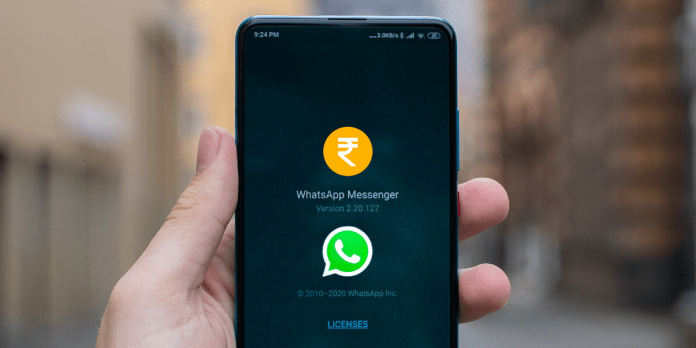 Whatsapp Credit to come alongside Whatsapp Pay