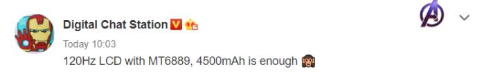 Redmi K40 leak suggests a 120hz screen and 4,500mAh battery 1