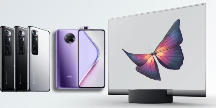 Xiaomi 10th Anniversary: Mi LUX Transparent TV, Mi 10 Ultra, and Redmi K30 Ultra