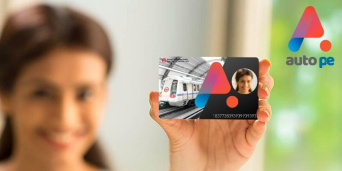 Autope cards for DMRC