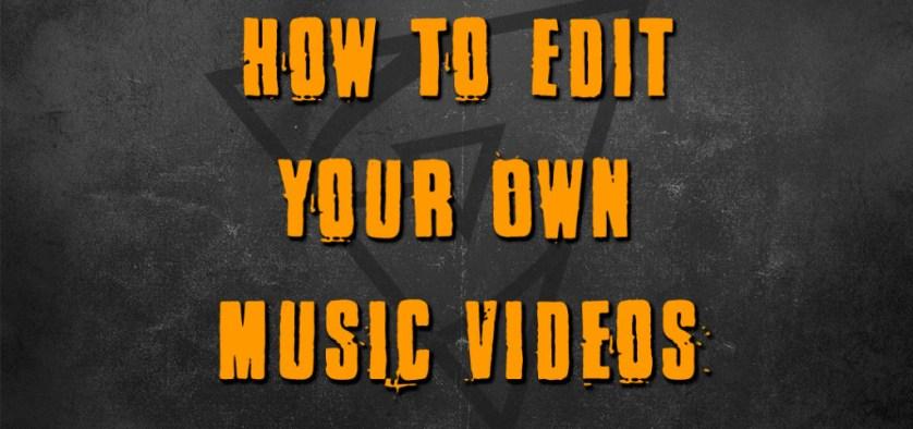 music video editing