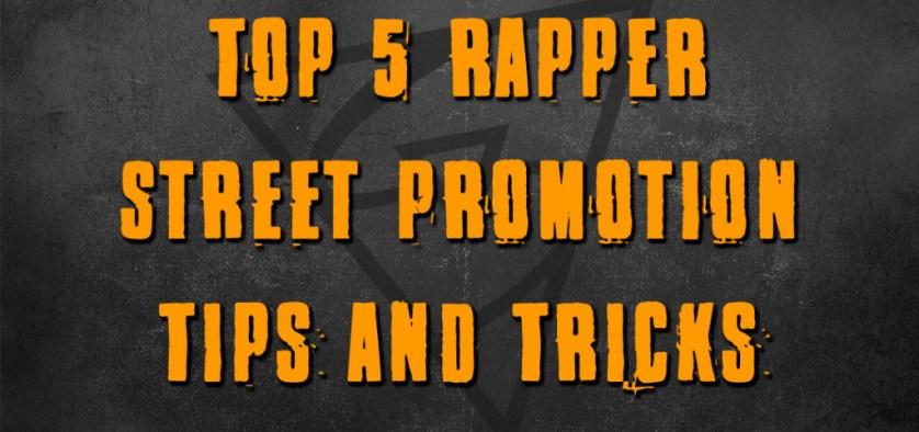 street rapper tips