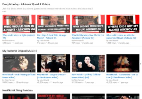 Youtube Play List