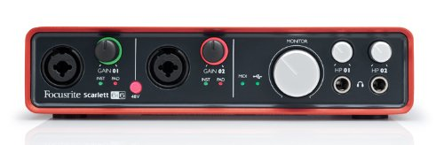 Focusrite preamp for rappers