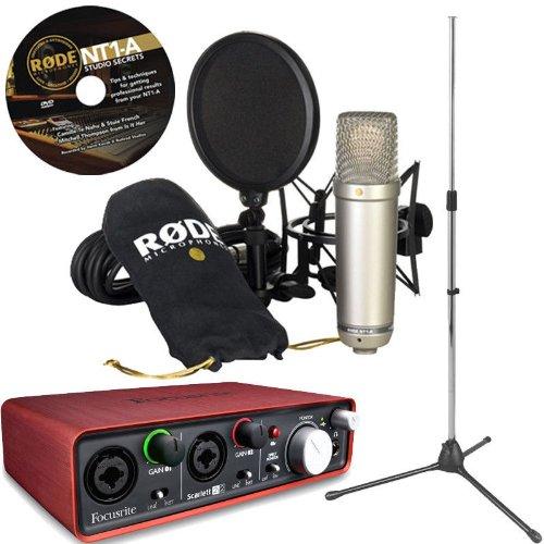 microphone for rap artist vocals bundle deal