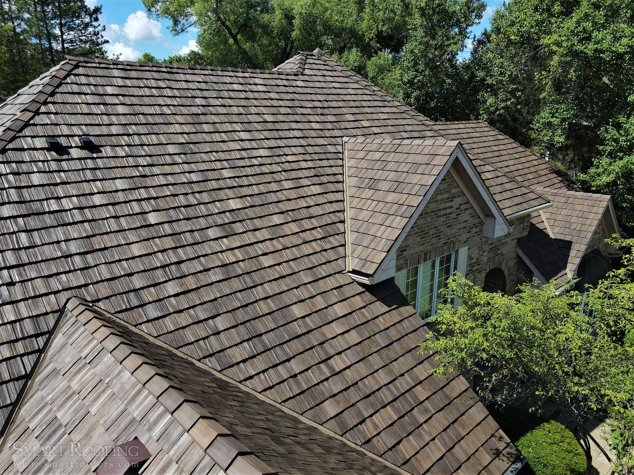 lisle brava composite cedar shake roof