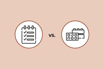 ¿Usar listas de tareas vs. bloques de tiempo?