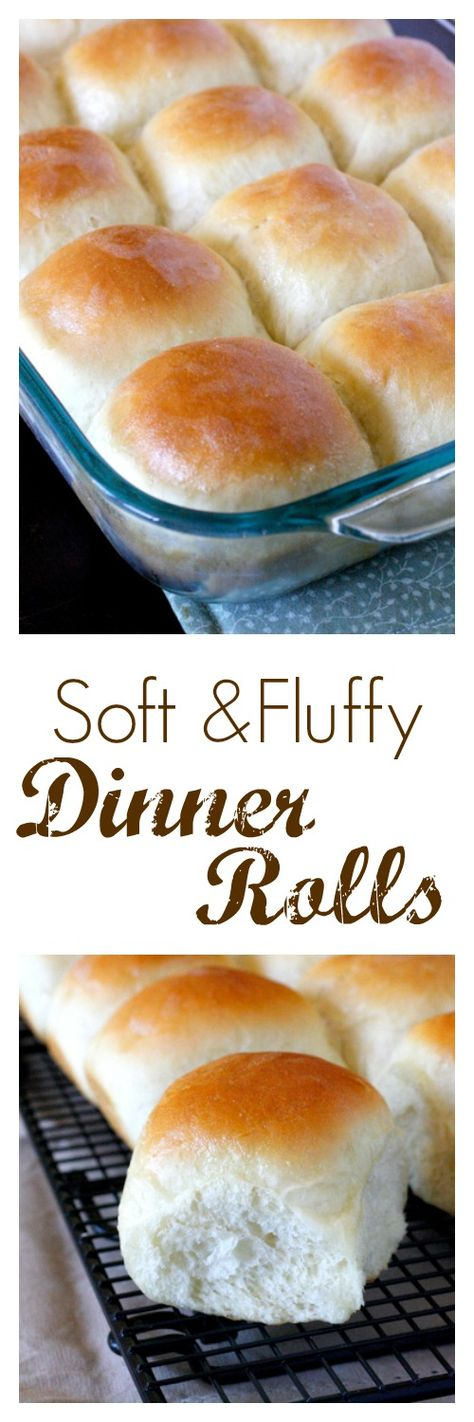 Soft and Fluffy Dinner Rolls - perfect for Easter dinner! easter recipes ideas dinner-easter recipes ideas-easter recipes side dishes-easter recipes dinner main courses-easter recipes appetizers #easter #easterrecipes #easyeaster #recipes
