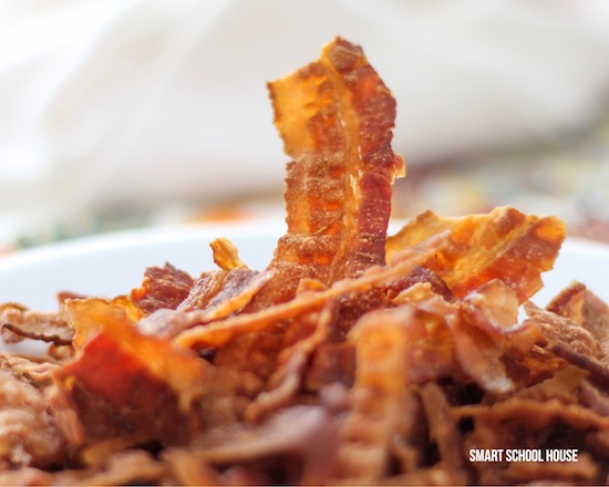 Crumbled bacon