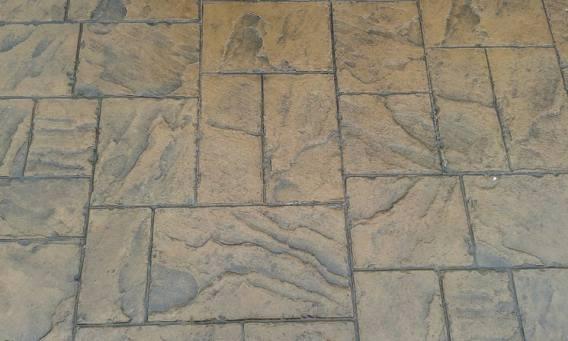 Resealing Refurbishment Sealing Pattern Imprinted Concrete.Patio Driveway.