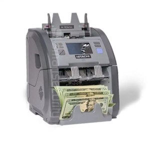 This is a picture of the Hitachi iHunter ih-110 Multi Currency Counter