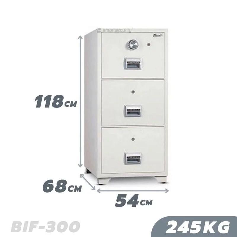 245KG Fireproof Filing Cabinet BIF-300