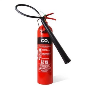 This is a picture of the 6KG CO2 Fire Extinguisher provided by Smart Security in Lebanon