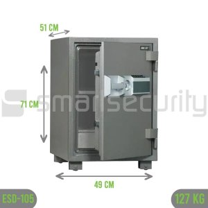 Bumil safe ESD 105 127KG Fireproof Home and Business Safe Box