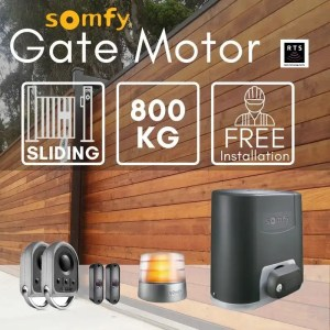 800KG Sliding Gate Motor Kit Automatic Electric Door with Remote