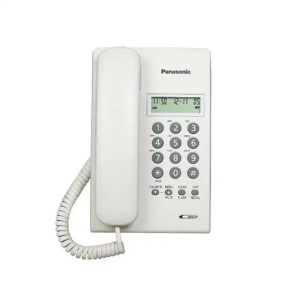 KX-T7703X-W Corded Phone with Caller ID White