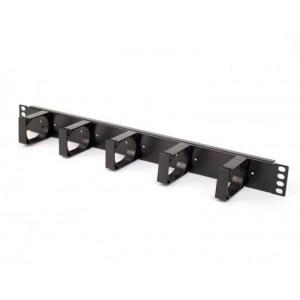 Cabinet Accessories: 1U Metal Cable Management