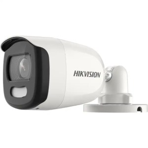 This is a picture of the HIKVISION DS 2CE10HFT F 5 MP ColorVu Fixed Mini Bullet Camera_1