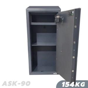154 KG ANTI-BURGLARY SAFE VALBERG ASK 90 Grade I