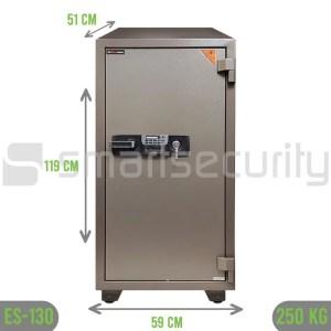 250KG Fireproof Home & Business Safe Box ES-130