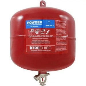 This is a picture of the 12 KG Automatic Fire Extinguisher provided by Smart Security in Lebanon