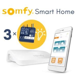 somfy automation starter kit