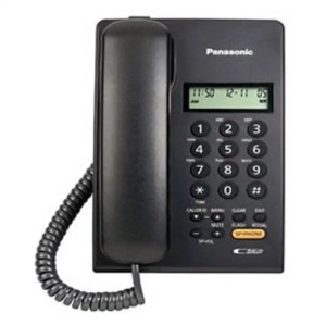 Panasonic KX-TSC62SX Corded Telephone (Black/White)