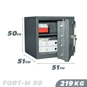 219 KG VALBERG FORT-M 50 FIRE AND BURGLARY RESISTANT SAFE GRADE III