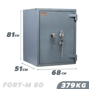 379 KG VALBERG FORT-M 80 FIRE AND BURGLARY RESISTANT SAFE GRADE III