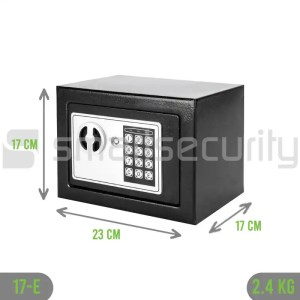 Black Color Home or Hotel Safe with Electronic Lock 17e