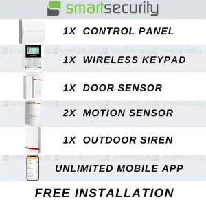 jablotron Wireless Professional Intrusion Alarm Kit With Mobile App – For Home And Business