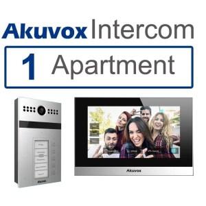 1 Apartment SIP Video Intercom With Mobile App Akuvox