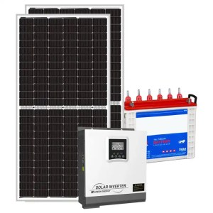 This is a picture of the Solar Energy System Kit 4 AMPS sold in Lebanon by Smart Security