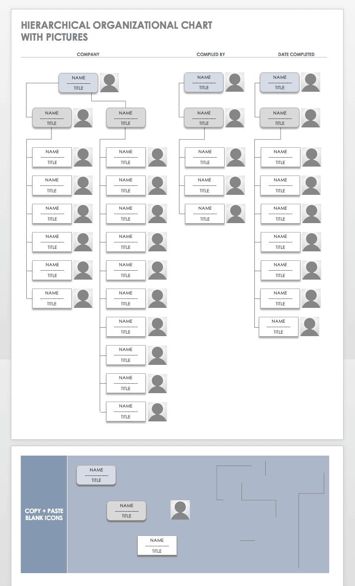 Free Organization Chart Templates For Word Smartsheet