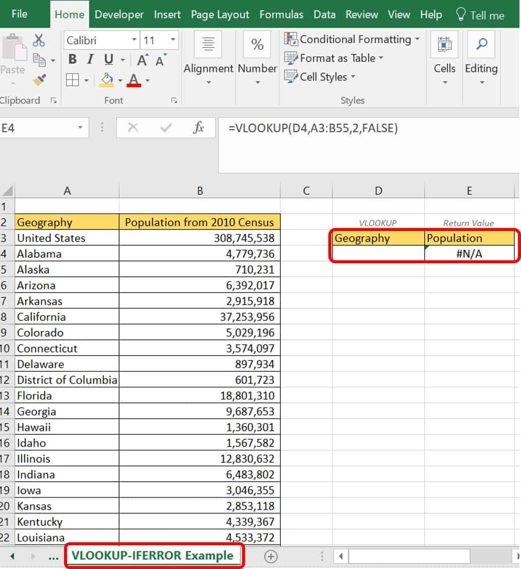 Vlookup Examples An Intermediate Guide
