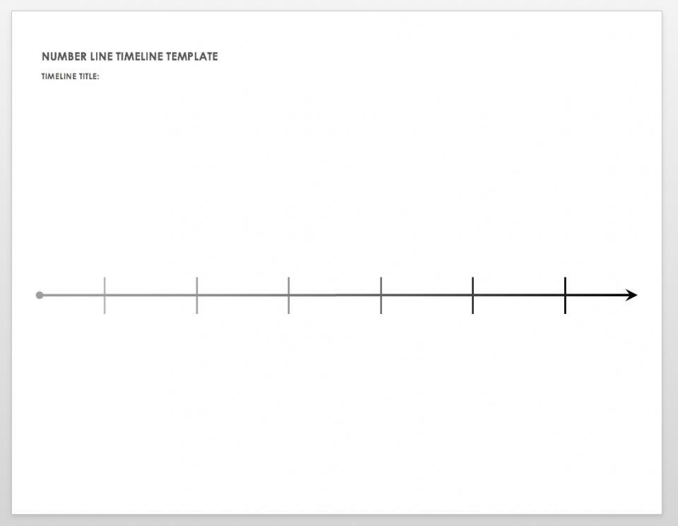 Free Blank Timeline Templates Smartsheet