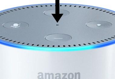 reset echo speaker