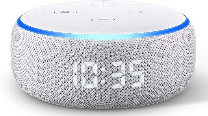 echo-dot-with-clock