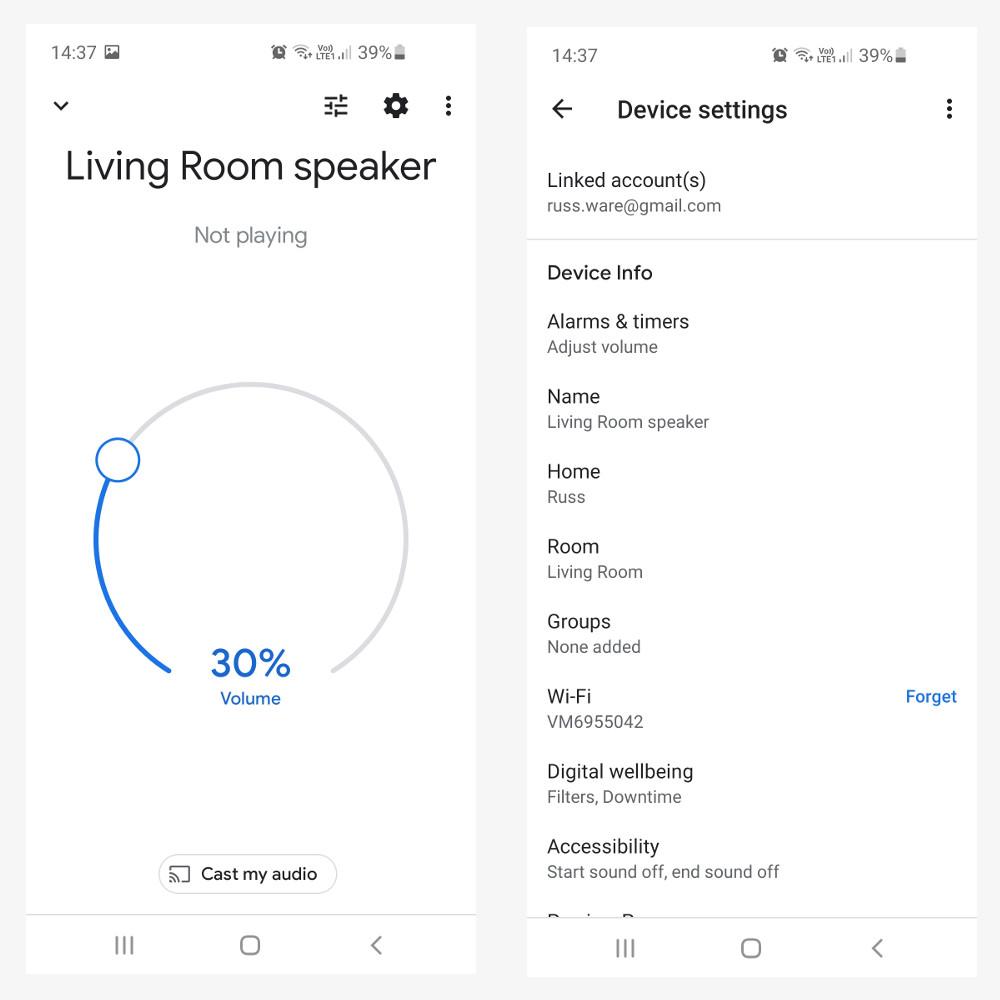 pairing google speakers