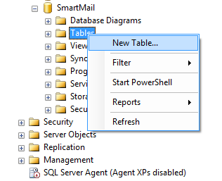 www.smarttech.com-SQL-new-table