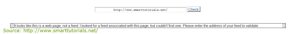 could-not-detect-feed-for-this-url in wordpress or blogger