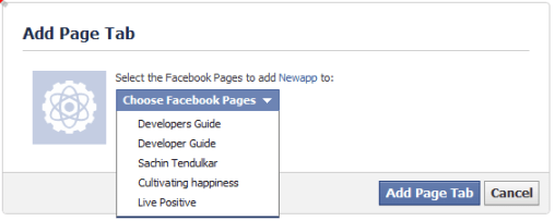 how to create a custom facebook timeline page
