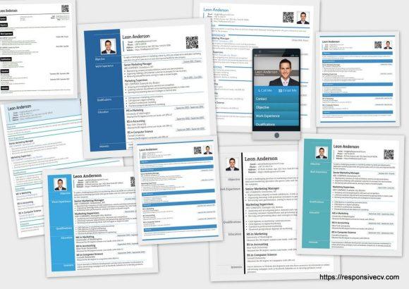 Resume Templates Responsive CV