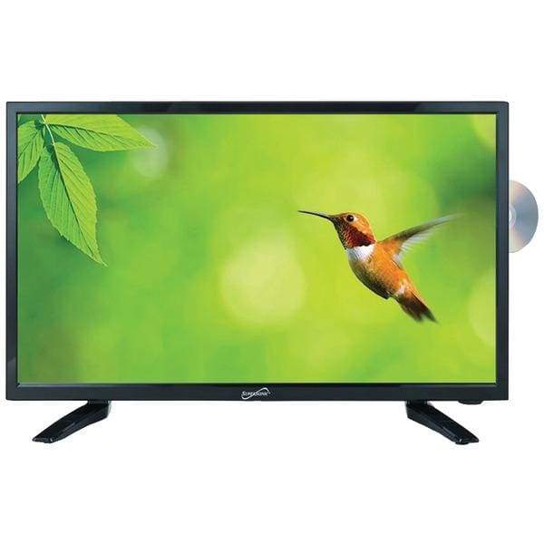 18.5 720p LED TV-DVD Combination AC-DC Compatible with RV-Boat - Televisions